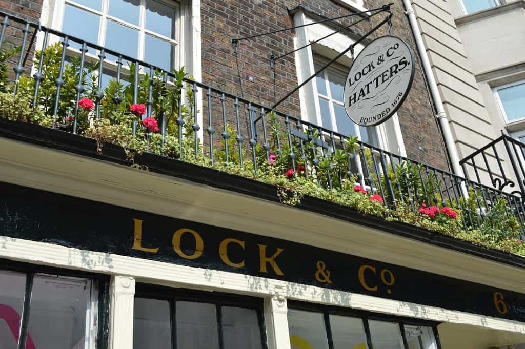 Lock and co hat shop