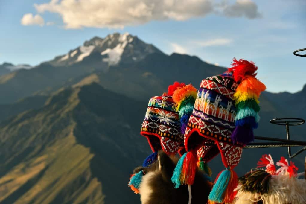 Peruvian chullo hats